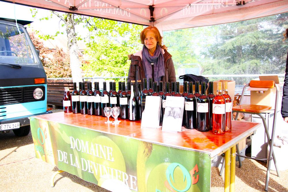 Vigneron Domaine de la Devinière - © J.Masserann